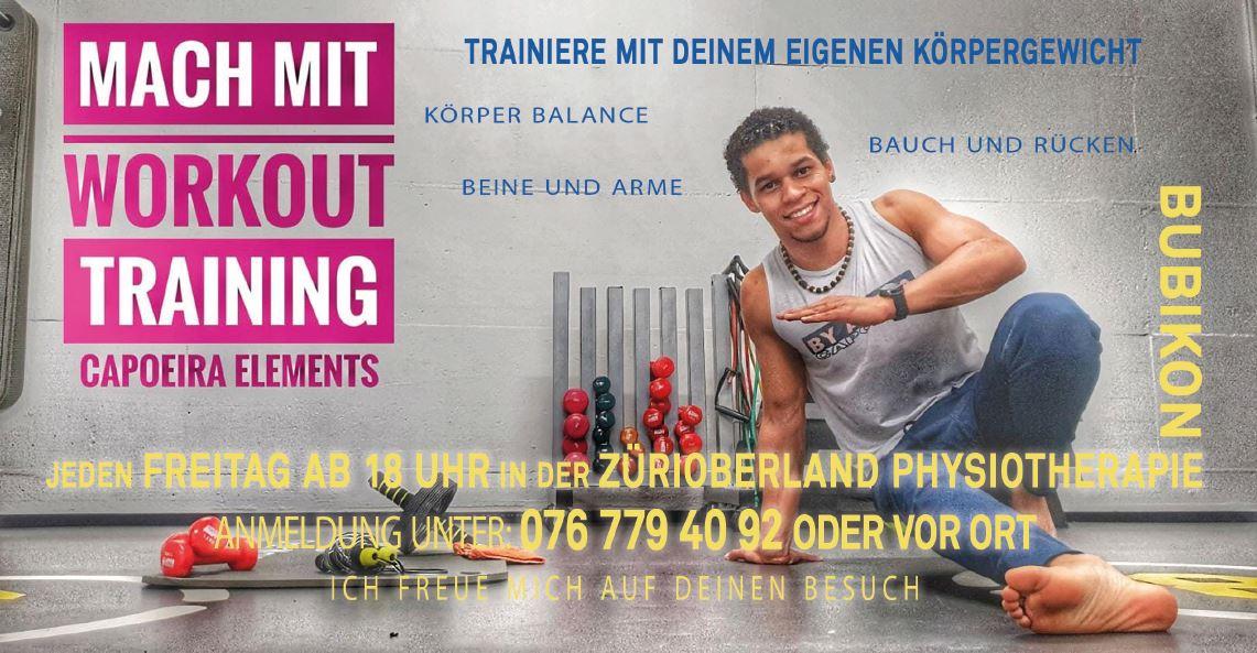 Physiotherapie ZüriOberland AG Capoeira Mach Mit Workout